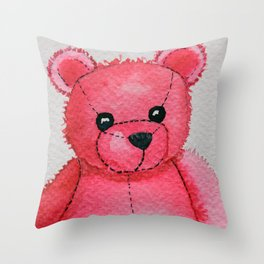 Rosy the Bear Throw Pillow