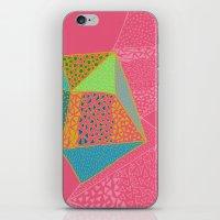 diamonds iPhone & iPod Skins featuring Diamonds by Sandra Arduini