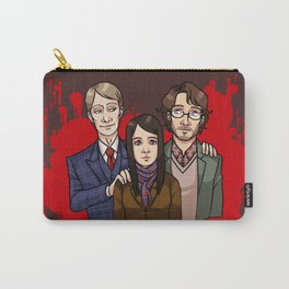 Murder Family Carry-All Pouch