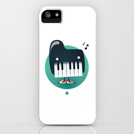Piano Monster iPhone Case