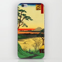 Japanese Tea House on River iPhone Skin