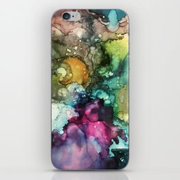 Abstract Colorful Nebulous iPhone Skin