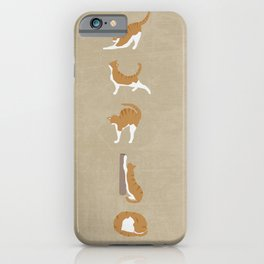 Cat Ballet iPhone Case