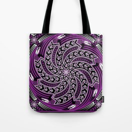Wind Spirit (Purple) Tote Bag