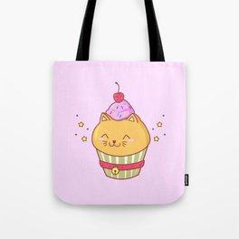 Cat Cake Tote Bag