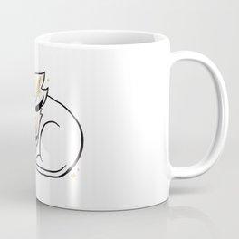 Lion & Goldenrod Coffee Mug