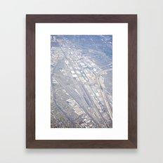 GEOgraphy IV Framed Art Print