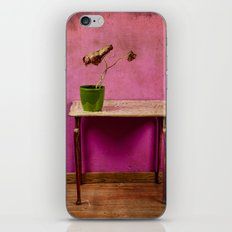 The colorful decay of plants iPhone & iPod Skin