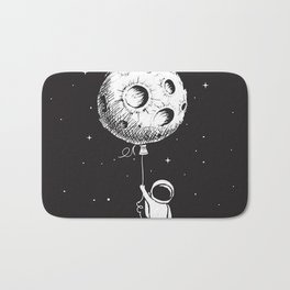 Fly Moon Bath Mat