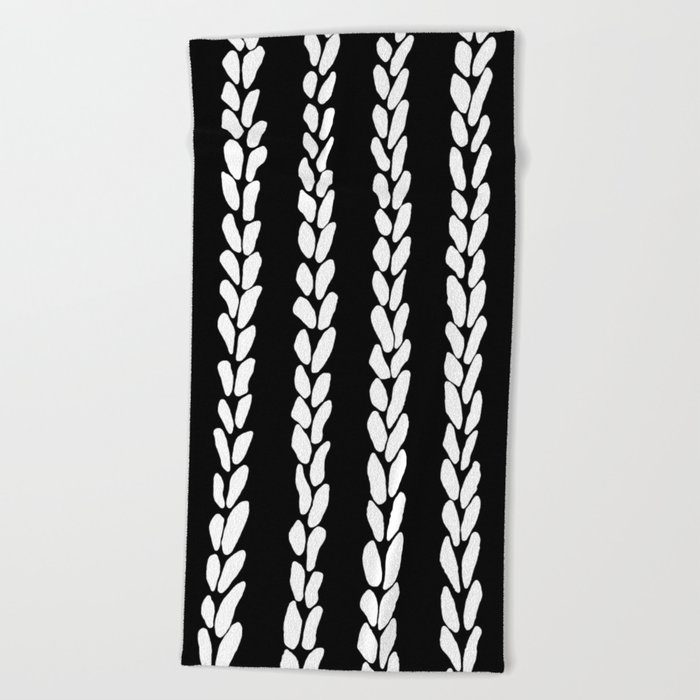 Knit 8 Beach Towel