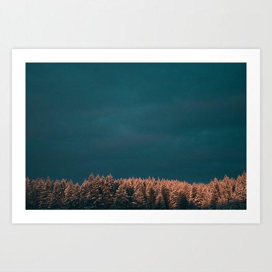 Forest XX Art Print