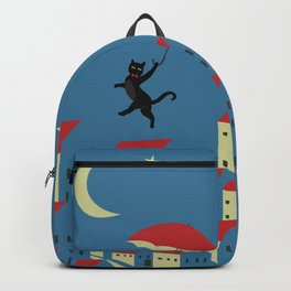 Upton The Cat And His Evening Adventures Backpack