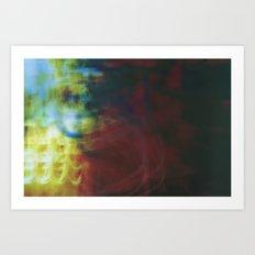 Cage Spectrum Art Print