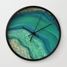 Geode Series #5 Wall Clock