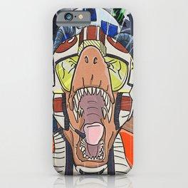 Rebellion Rex - Star Wars Dinosaurs iPhone Case