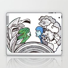 From two different worlds Laptop & iPad Skin