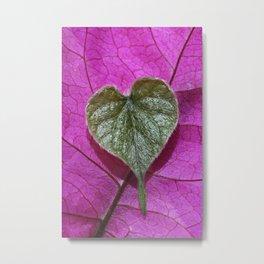 love / nature Metal Print