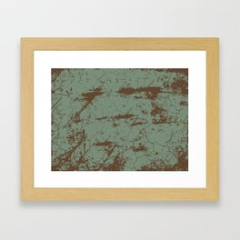 cracked concrete vintage wall background,old wall Framed Art Print