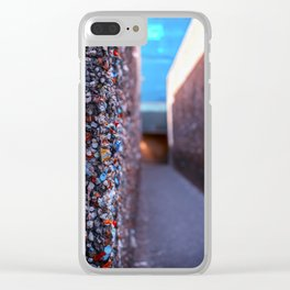 Do you dare enter Bubblegum Alley Clear iPhone Case