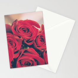 Bundle of Red Roses Stationery Cards