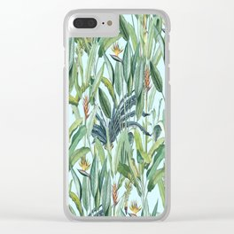 Tropical Paradise VII Clear iPhone Case