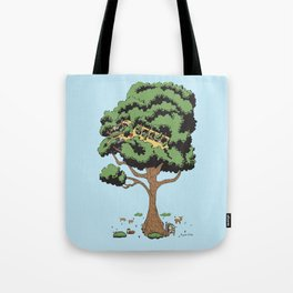 When Nature Wins Tote Bag