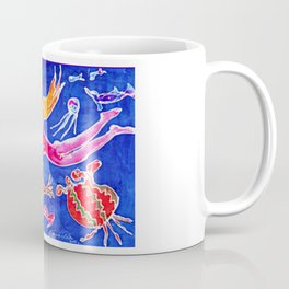 Frolicking with Dolphins       by Kay Lipton Coffee Mug