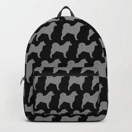 Alaskan Malamute Silhouette(s) Backpack