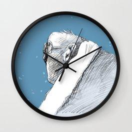 Mr Winter Wall Clock