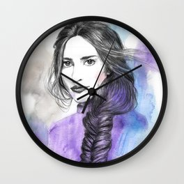 Lizzie II Wall Clock
