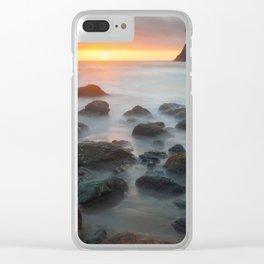 Sunset Near Pewetole Island Clear iPhone Case