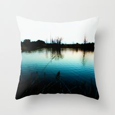 Interference Throw Pillow