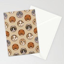 Polka Meaw Stationery Cards