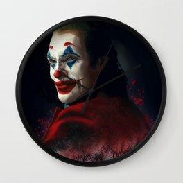 Joker Digital Painting Wall Clock