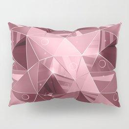 Abstract polygonal pattern.3 Pillow Sham