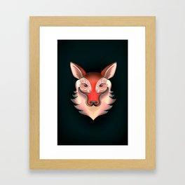 Fox Rabbit Framed Art Print
