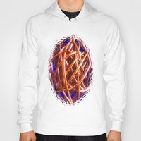 the wire Hoodies featuring Wire Ball by Brian Raggatt