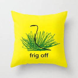 gadsden Throw Pillow