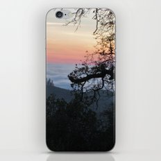 Fog-Filled Valley at Sunset iPhone & iPod Skin