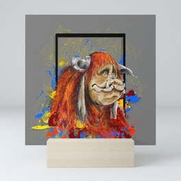 Ludo Splatter! Mini Art Print