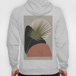 Tropical Leaf- Abstract Art 5 Hoody