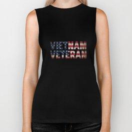 Vietnam Veteran American Flag Apparel Patriotic Gift Biker Tank