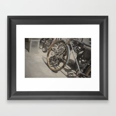 City Bike Framed Art Print