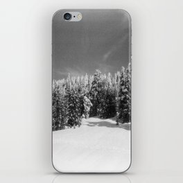 snow-capped iPhone Skin