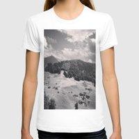 switzerland T-shirts featuring Switzerland BW by Heather Hartley