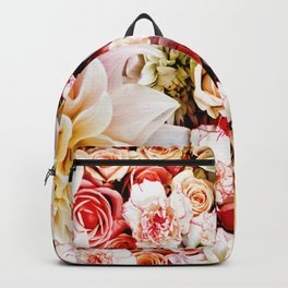 Floral Feature Backpack