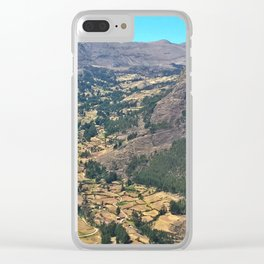 Sacred Valley, Peru Clear iPhone Case