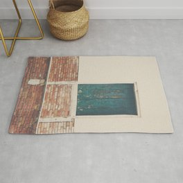 A little pop of color in Venice Rug
