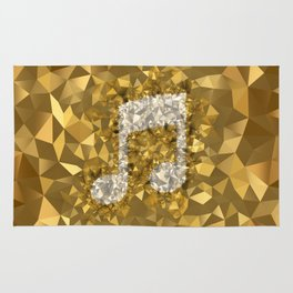 POLYNOID Music / Gold Edition Rug