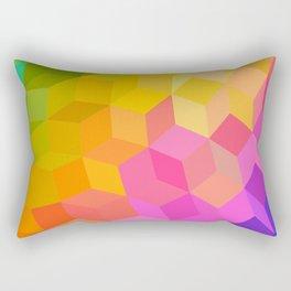 Rainbow Ball Rectangular Pillow